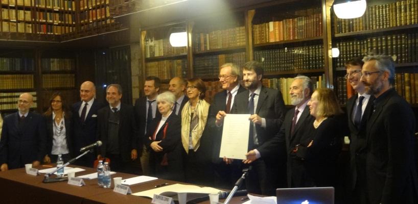 """Firmato il """"Patto di Milano per la Lettura"""""""