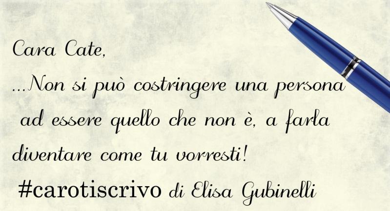 Lettera di Elisa Gubinelli
