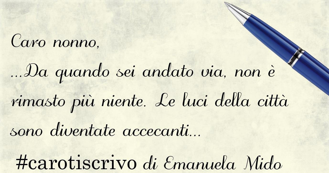 Lettera di Emanuela Mido