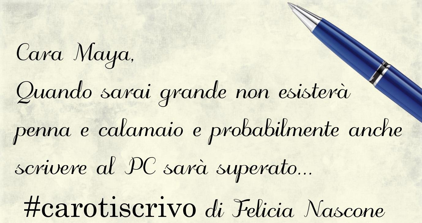 Lettera di Felicia Nascone