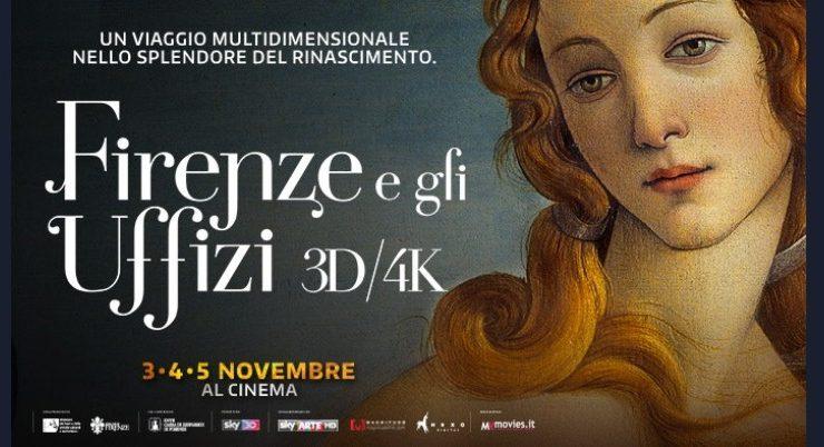 Firenze e gli Uffizi arrivano al cinema