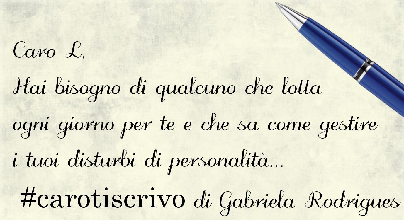Lettera di Gabriela Rodrigues