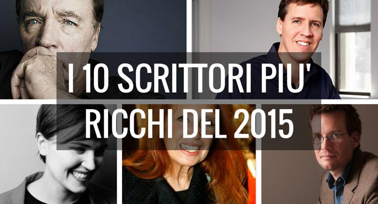 Gli scrittori più ricchi del 2015