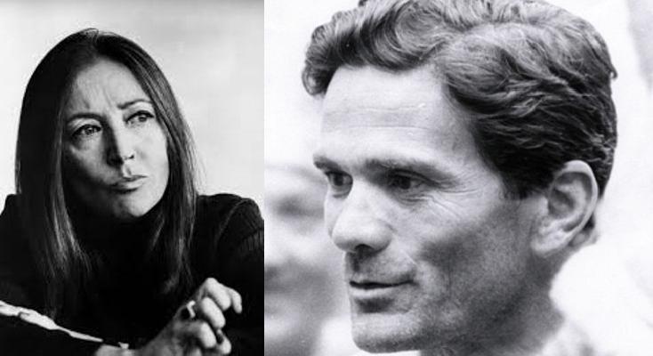 La lettera di Oriana Fallaci a Pier Paolo Pasolini