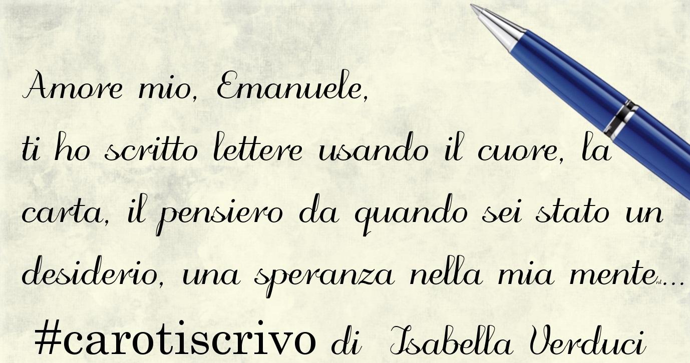 Lettera di Isabella Verduci al figlio