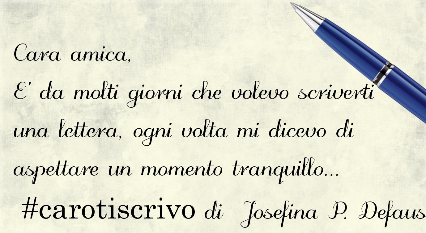 Lettera di Josefina Privat Defaus ad un'amica