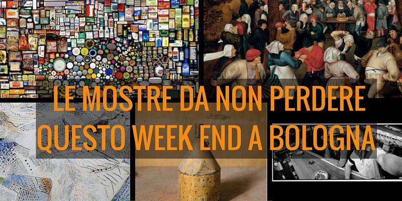 Le mostre da non perdere questo week end a Bologna