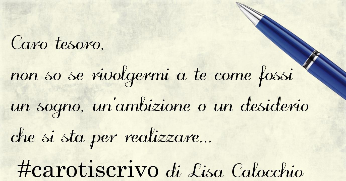 Lettera di Lisa Calocchio alla figlia