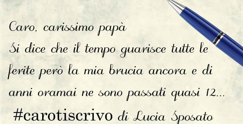 Lettera al padre di Lucia Sposato