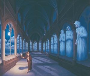 I dipinti surreali di Rob Gonsalves