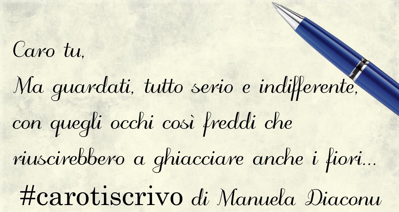 Lettera di Manuela Diaconu