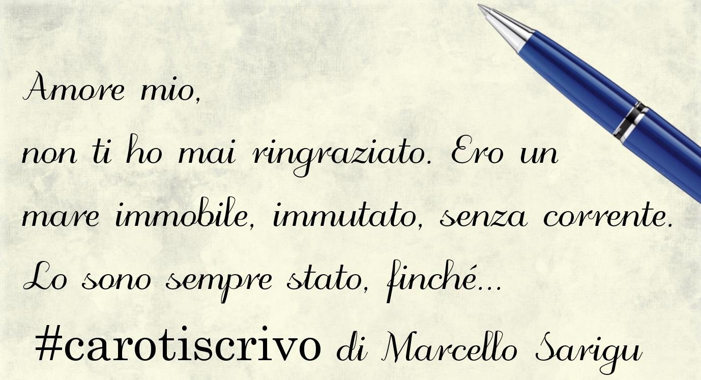 Lettera d'amore di Marcello Sarigu