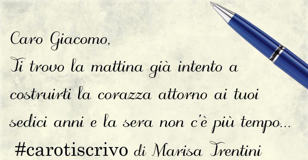 Lettera di Marisa Trentini al figlio