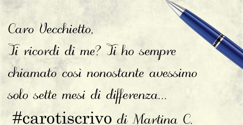 Lettera di Martina C.