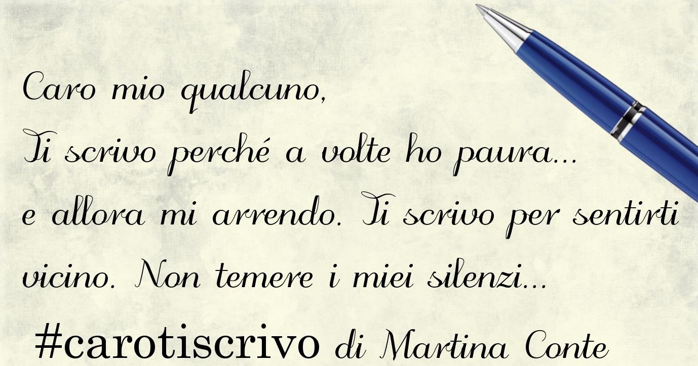 Lettera di Martina Conte