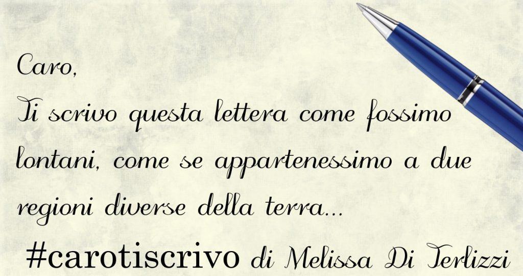 Lettera di Melissa Di Terlizzi