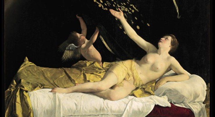 """La """"Danae"""" di Gentileschi all'asta a New York"""