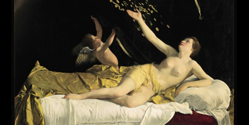 "La ""Danae"" di Gentileschi all'asta a New York"