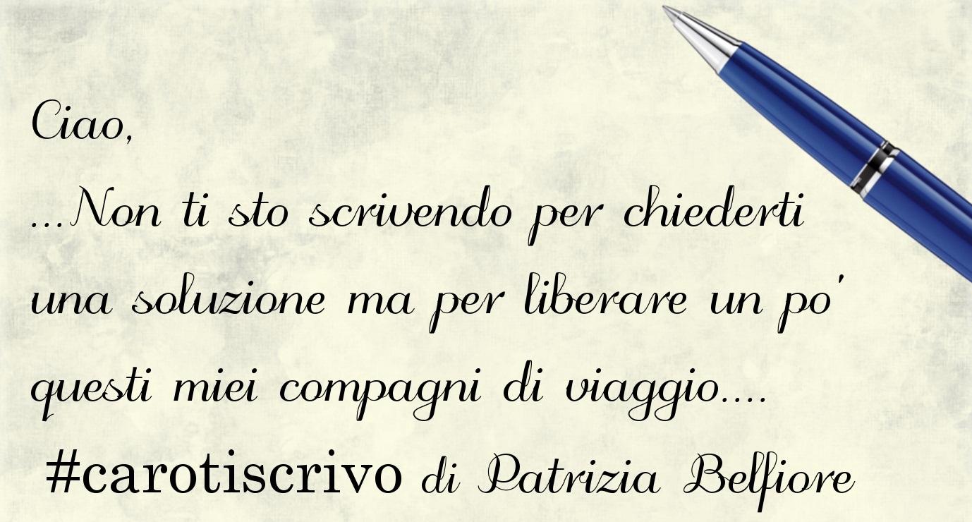 Lettera di Patrizia Belfiore