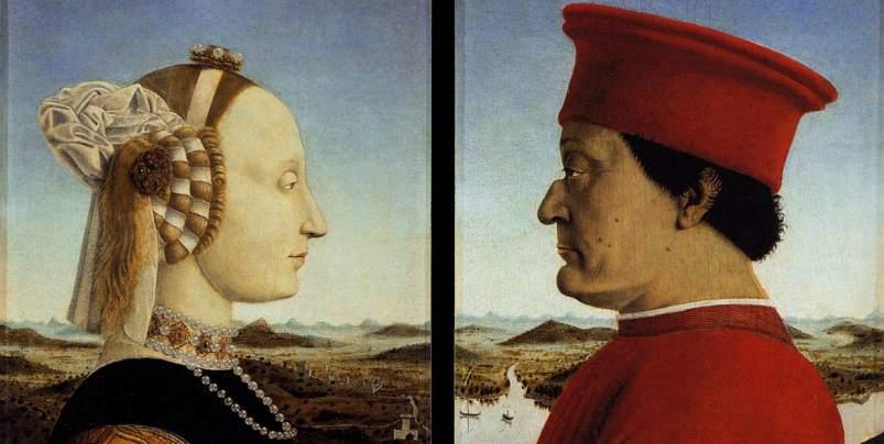 Piero della Francesca, prospettiva e luminosità