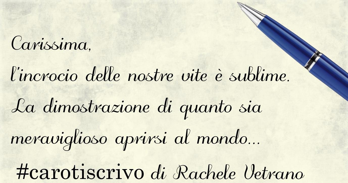 Lettera di Rachele Vetrano