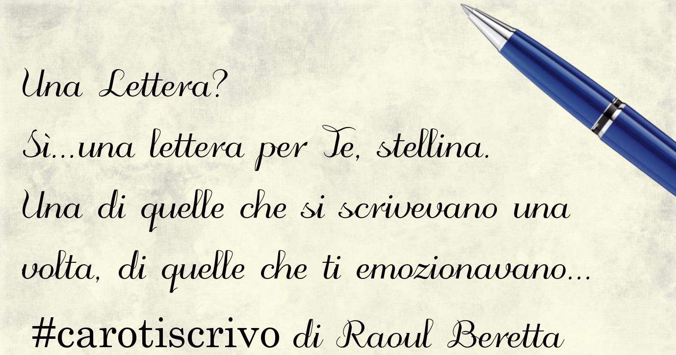 Lettera di Raoul Beretta