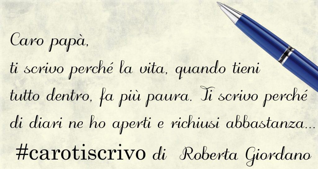 Lettera al padre di Roberta Giordano