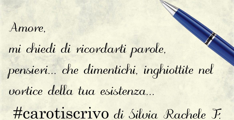 Lettera d'amore di Silvia Rachele Fallica