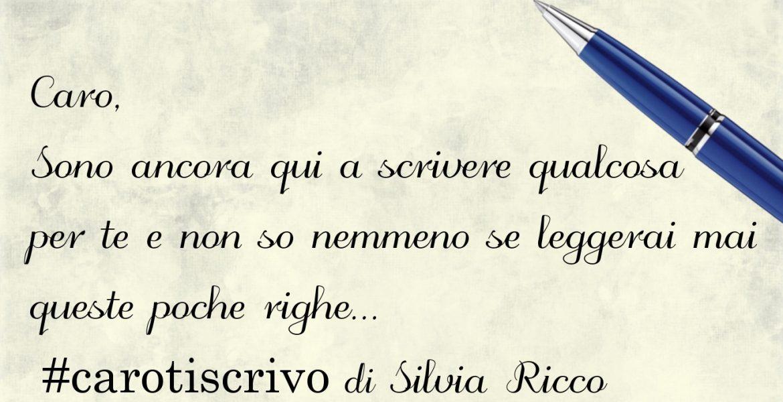 Lettera di Silvia Ricco