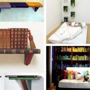 7 idee creative per arredare la vostra libreria di casa