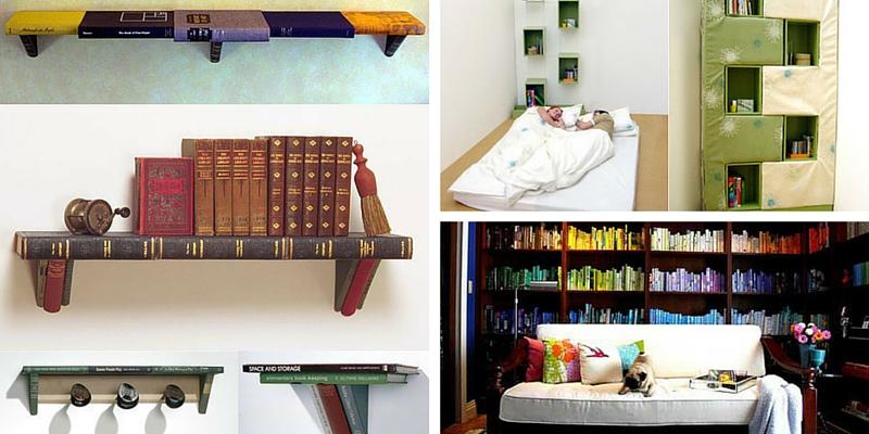 Come arredare la vostra libreria di casa ecco 7 idee creative for Idee creative per arredare
