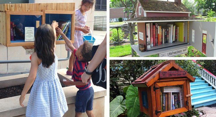 Come creare una Little Free Library nel vostro quartiere