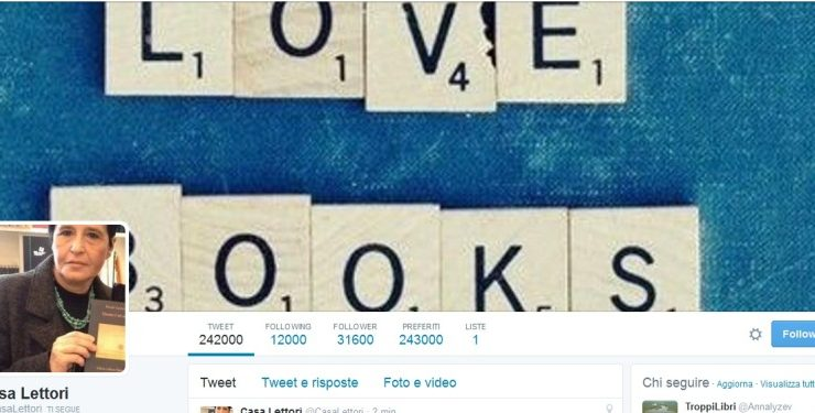 "Maria Anna Patti (@Casalettori), ""Un tweet vale più di una recensione"""