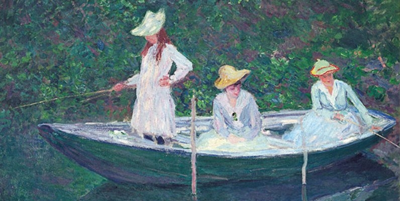 Monet in mostra alla GAM di Torino