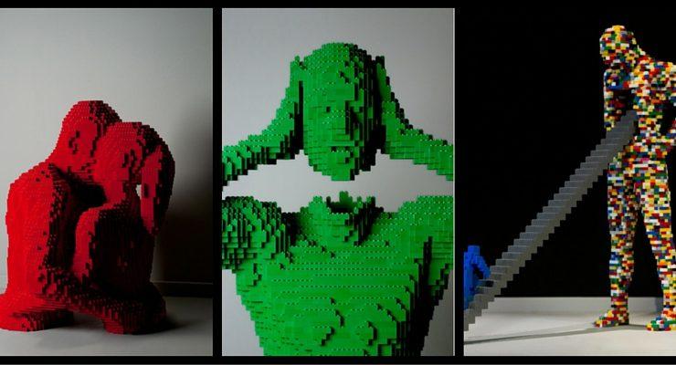 Nathan Sawaya e le sue sculture Lego per la prima volta in Italia