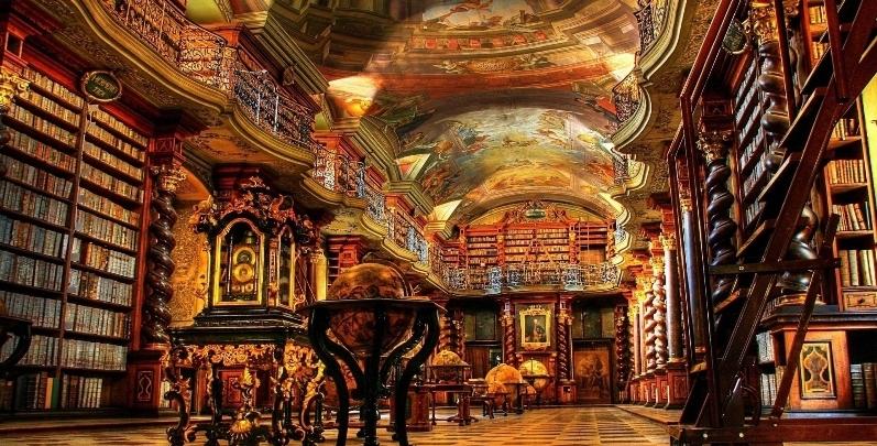 klementinum national library czech republic libreria biblioteca