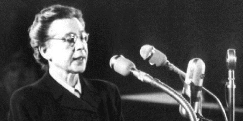 Lettera di addio della politica Milada Horáková alla figlia Jana