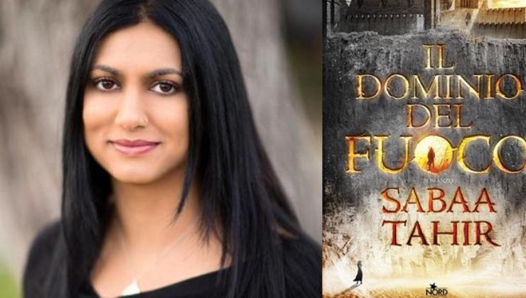 """Esce oggi in tutte le librerie il nuovo libro di Sabaa Tahir, """"Il dominio del fuoro"""""""