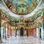 Germania, ecco la biblioteca del monastero Wiblingen