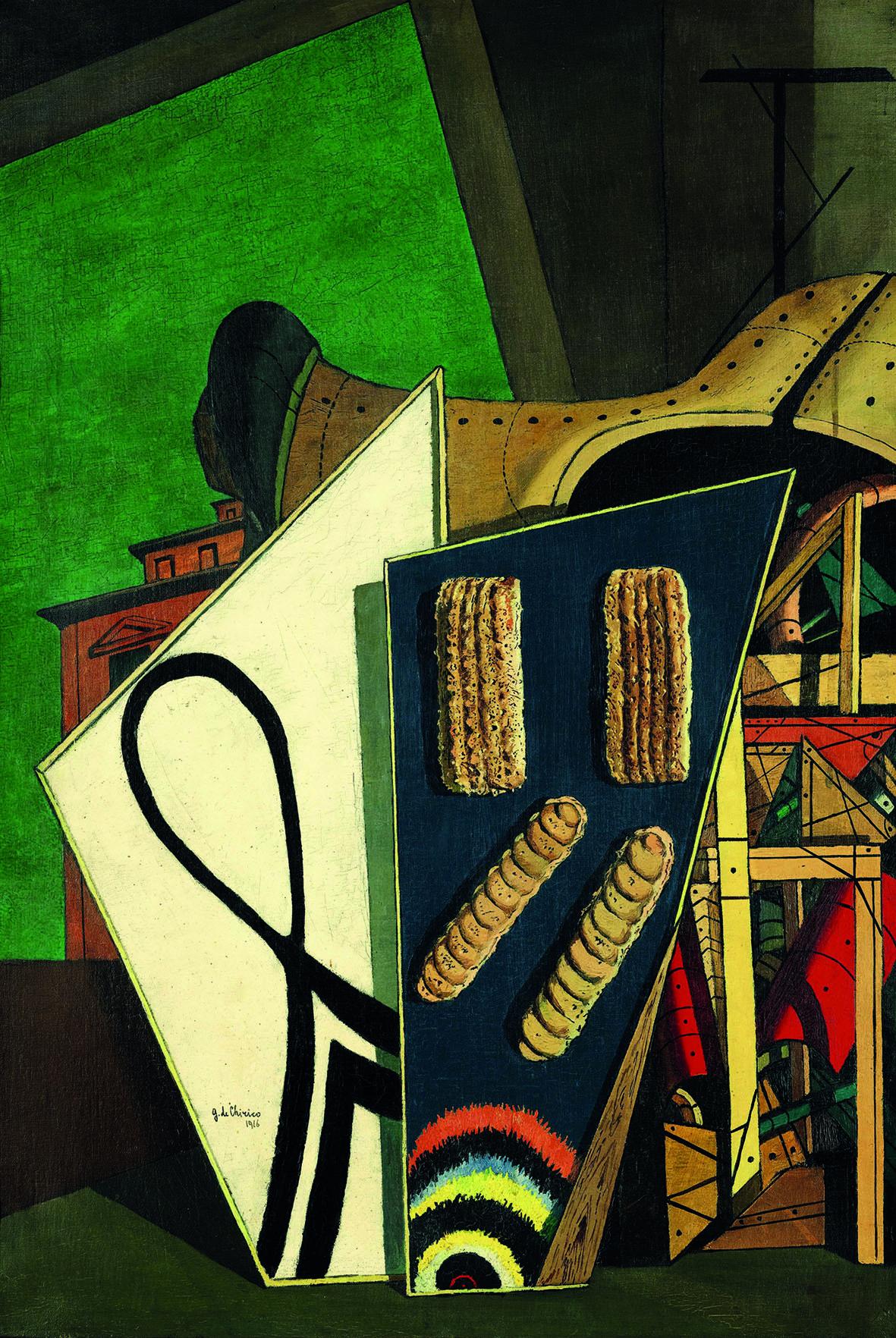 Giorgio de Chirico: Composizione metafisica