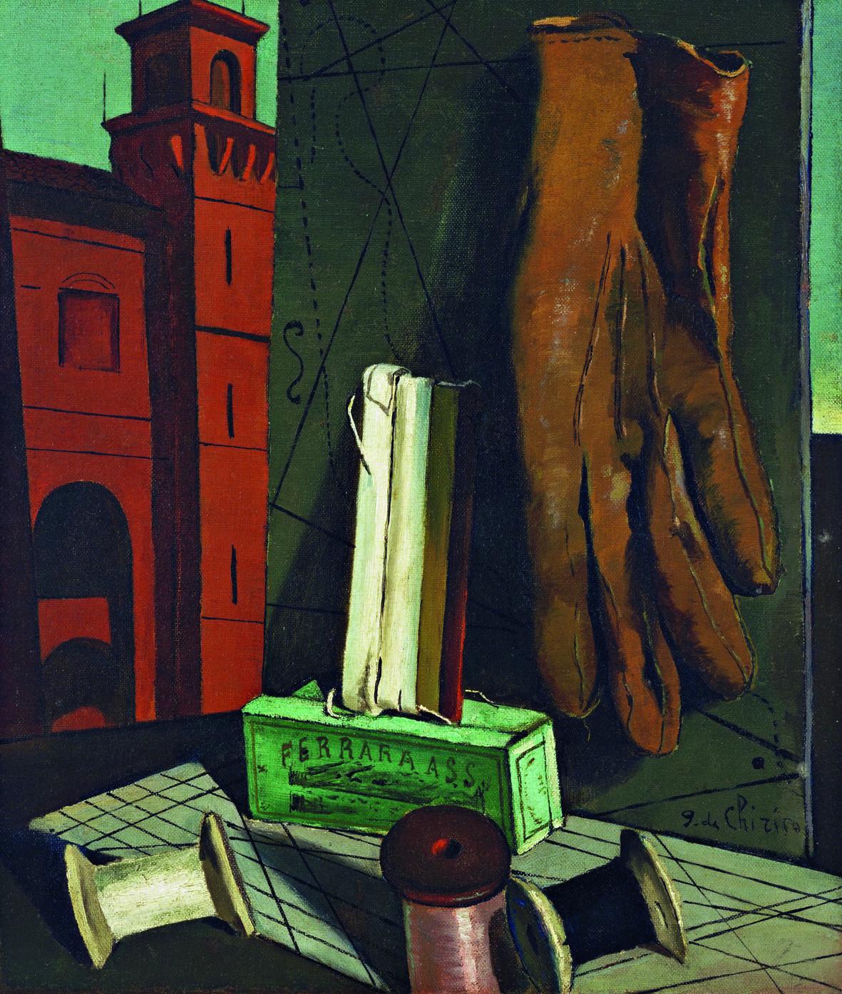 Giorgio de Chirico: I progetti della ragazza