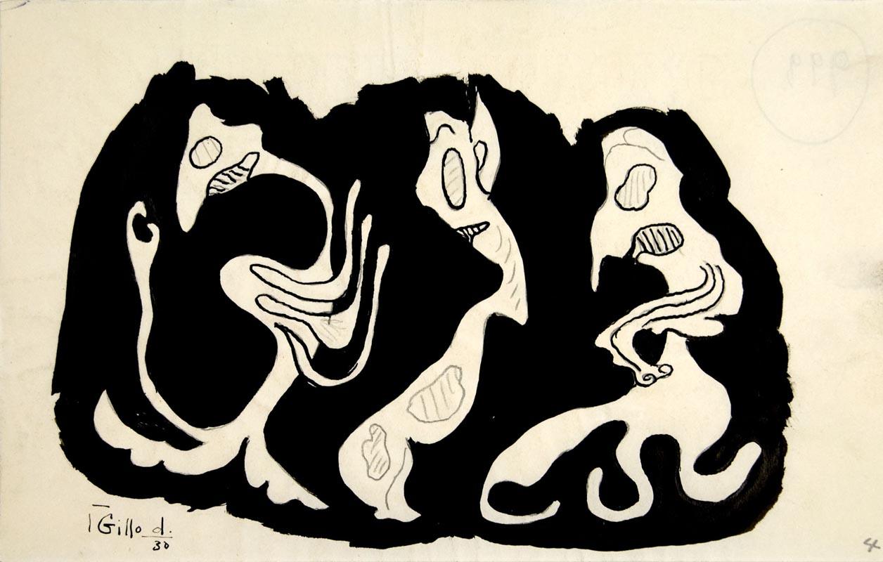 Dorfles, Senza titolo, 1930