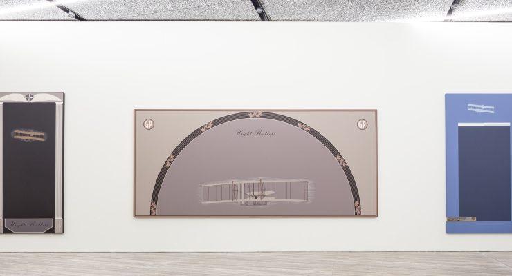 Gianni Piacentino Veduta della mostra Fondazione Prada – Milano Foto Delfino Sisto Legnani Courtesy Fondazione Prada