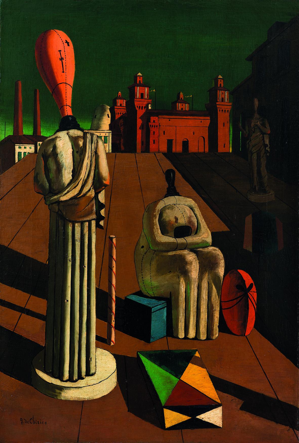 Giorgio de Chirico: Le Muse inquietanti