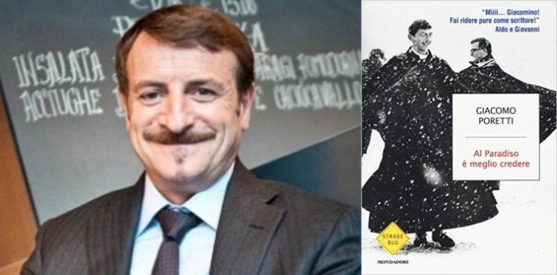"""Giacomo Poretti, """"Scrivere un libro ti da una grande libertà"""""""