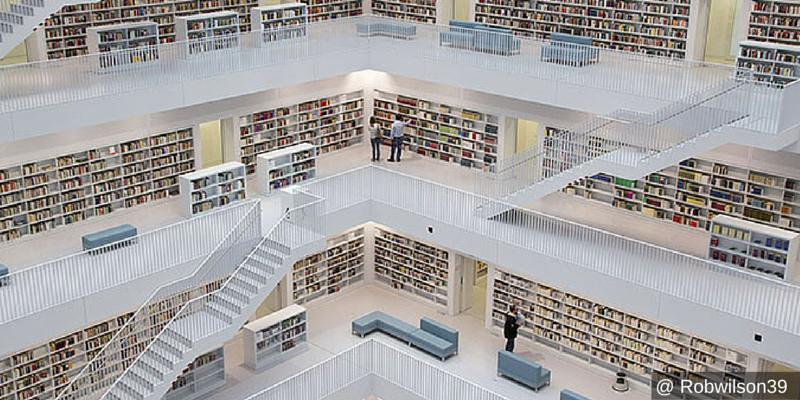 Alla scoperta della biblioteca civica di Stoccarda
