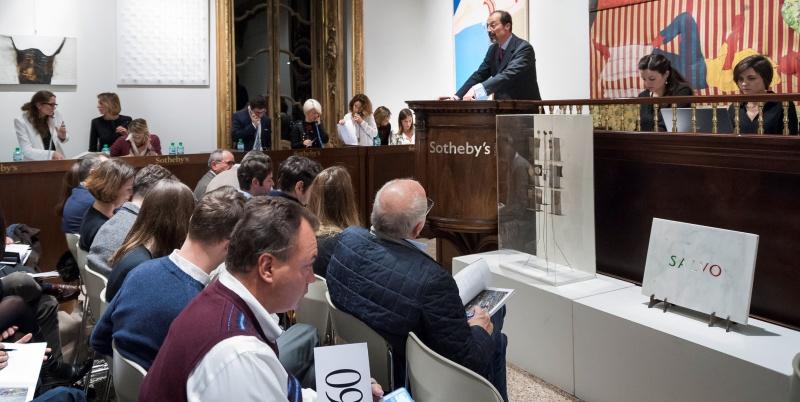 Le vendite della prima asta Sotheby's a Milano