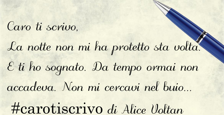 Lettera di Alice Voltan