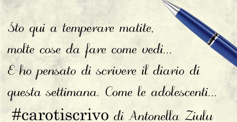 Lettera di Antonella Ziulu