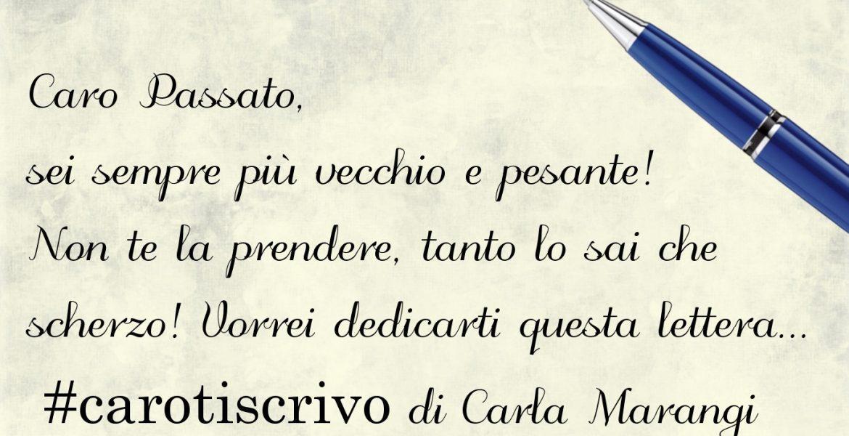 Lettera di Carla Marangi
